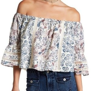TULAROSA Alexa Off The Shoulder Top Size M NWOT